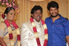 Balaji Balakrishan at Actor Black Pandi Wedding Reception Photos