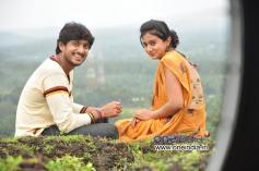 Ajay Rao and Harshika Ponacha in Kannada Movie Advaitha