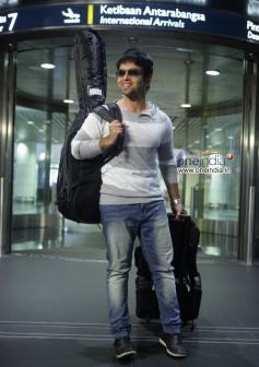 Arjun Lal in Malayalam Movie Asha Black