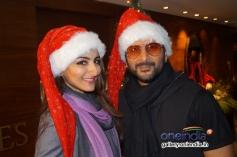 Arshad Warsi & Soha Ali Khan promote their film Mr Joe B. Carvalho at Le Meredian Hotel, Delhi