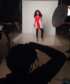 Asin's photoshoot for new Mirinda campaign