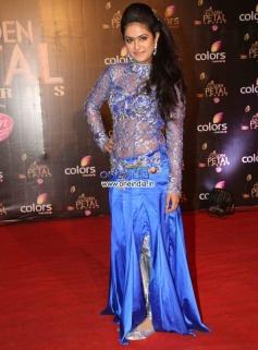 Avika Gor at Colors Tv 3rd Golden Petal Awards 2013