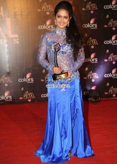 Avika Gor during the Colors Tv 3rd Golden Petal Awards 2013