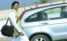 Bachchan family snapped at Bhopal airport