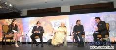 BIG B, Waheeda and SRK at NDTV Solution Summit 2013