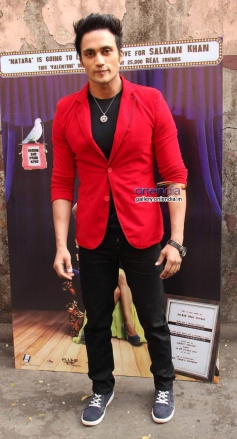 Bollywood actor Zubair Khan at Munna Bhai, Sallu Bhai First Look Poster Launch