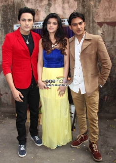 Bollywood actors Zubair Khan, Anjali Arora and Shresth Kumar