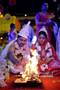 Brahmaji son Wedding Photos