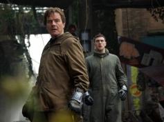 Bryan Cranston and Joe Brody still from Godzilla 2014