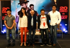 Celebs during the Dhoom 3 film promotion at Chennai