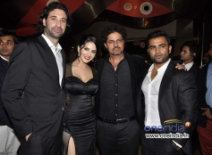 Celebs during the Jackpot movie premiere