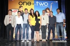 Celebs at the trailer launch of film One By Two