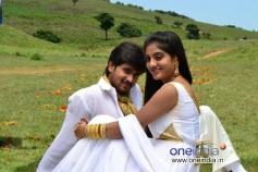 Chandan and Shruthi in Kannada Movie Parinaya