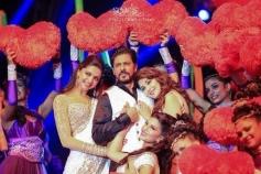Deepika Padukone along with Shahrukh Khan at Access All Areas concert
