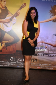 Devika Bhagat at the trailer launch of film One By Two
