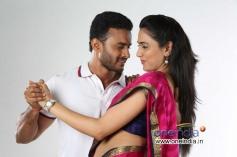 Dhanush and Maitriya in Kannada Movie Namasthe India
