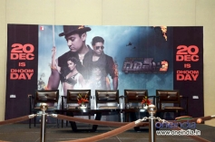 Dhoom 3 film promotion stage at Hyderabad