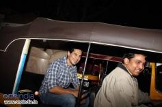 Dino Morea arrives at Olive restaurant in Mumbai