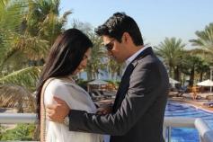 eena Malik and hubby Asad Bashir Khan Khattak's wedding pictures