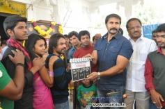 Ex-MLA Lakshma Reddy, Ravi Prakash at College Kurrallu Movie Launch