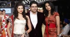 Hamsa Nandini at the Hyderabad International Fashion Week 2013 Day 04