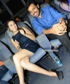 Hansika Motwani, Karthi at Biriyani Film Audio Launch