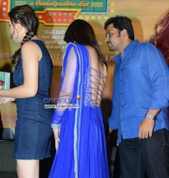 Hansika Motwani, Mandy Takhar, Karthi at Biriyani Film Audio Launch