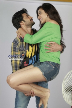 Harshavardhan Rane and Vithika Sheru in Telugu Movie Prema Ishq Kadhal