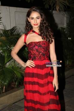 Hasleen Kaur during the music launch of film Karle Pyaar Karle