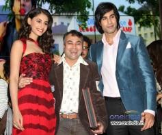 Hasleen Kaur and Shiv Darshan at the music launch of film Karle Pyaar Karle