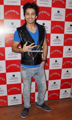 Himansh Kohli at the unveiling of The Rising Star Magazine latest issue