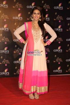 Huma Qureshi at Colors Tv 3rd Golden Petal Awards 2013