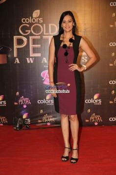 Jassvir Kaur at Colors Tv 3rd Golden Petal Awards 2013