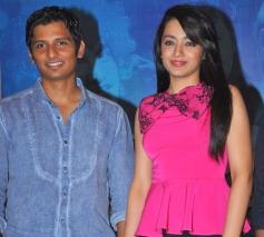 Jiiva and Trisha Krishnan at the Endrendrum Punnagai film success meet