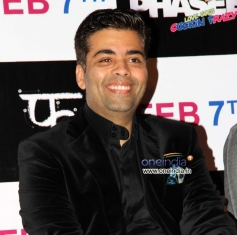 Karan Johar at Hasee Toh Phasee First Look Launched