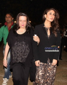 Kareena Kapoor with her mom Babitha snapped during the Christmas celebrations