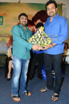 Karthi at Biriyani Film Audio Launch