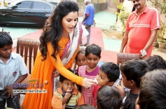 Kashish Singh celebrates Christmas at Swagat Ashram