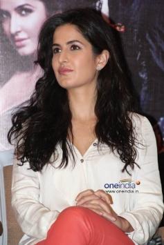 Katrina Kaif at Dhoom 3 film promotion at Chennai