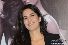 Katrina Kaif during the promotion of film Dhoom 3 at Hyderabad