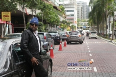 Manoj K Jayan in Malayalam Movie Asha Black
