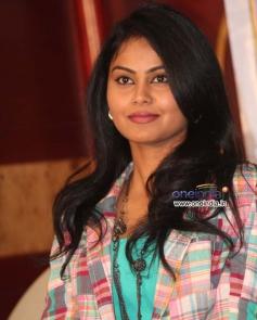 Mansi at Jolly Baru Mattu Poli Geleyaru Film Press Meet