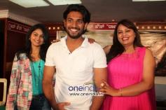 Mansi, Sunil Nagappa and Jayalakshmi at Jolly Baru Mattu Poli Geleyaru Film Press Meet