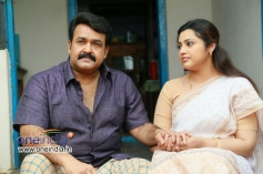 Mohanlal, Meena in Malayalam Movie Drishyam