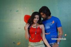 Namratha Sharma and Prashanth in Kannada Movie Vishesha