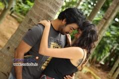 Neeraj Shah and Akila in Kannada Movie Q