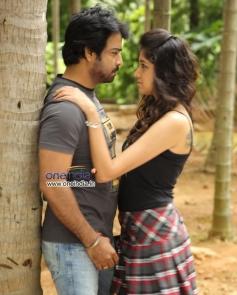 Neeraj Shyam and Akila in Kannada Movie Q