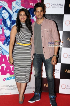 Parineeti Chopra and Sidharth Malhotra at Hasee Toh Phasee First Look Launched
