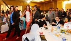Priyanka Chopra arrive at Agenda Aaj Tak 2013 summit