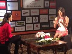 Priyanka Chopra speaks at Agenda Aaj Tak 2013 summit